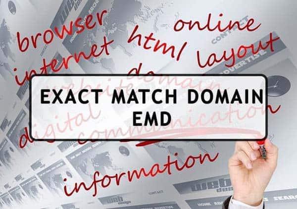 thuật toán emd - tên miền chính xác