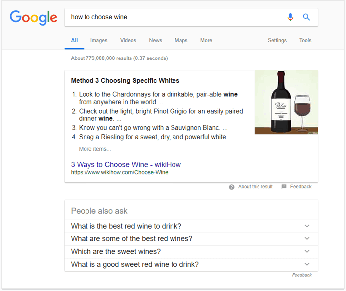 """""""People also ask"""" box search google"""