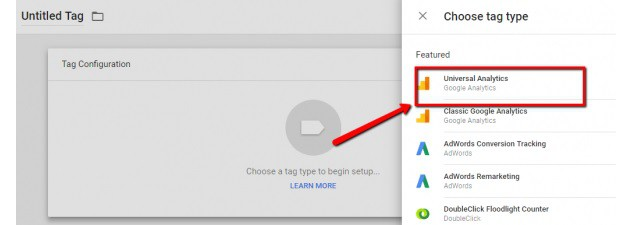 cài google analytics trong google tag manager