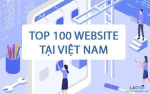 top 100 website truy cập nhiều nhất ở việt nam