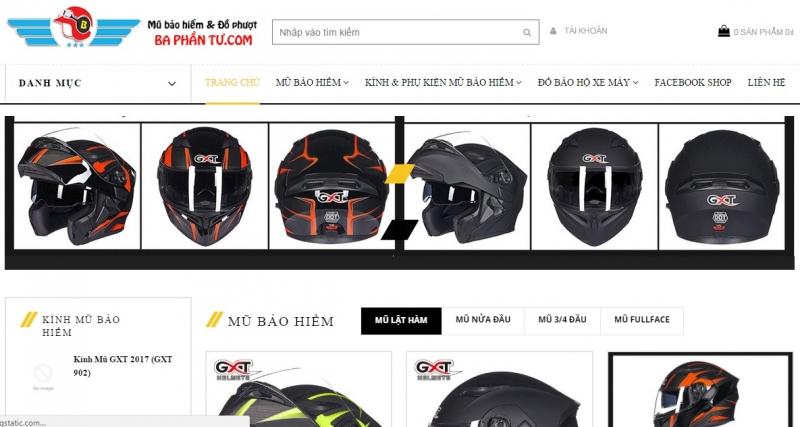 Website của Shop taphoa.net - Cửa hàng mũ bảo hiểm chính hãng ở Hà Nội