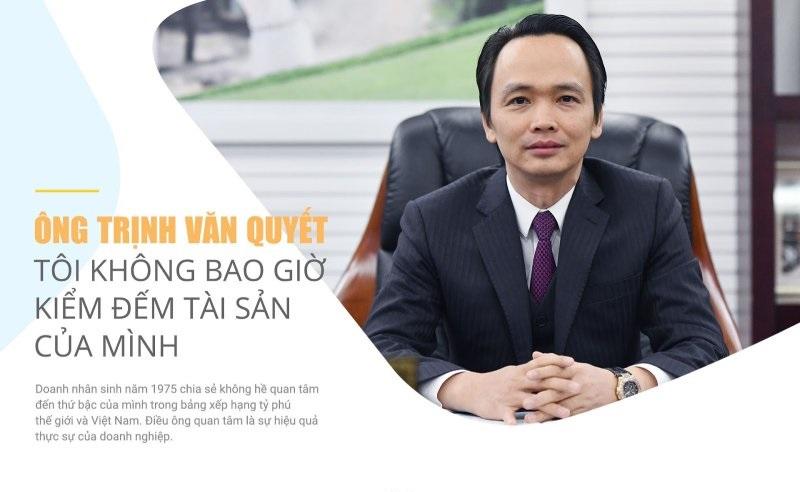 Quan điểm khởi nghiệp và lãnh đạo của tỷ phú Trịnh Văn Quyết