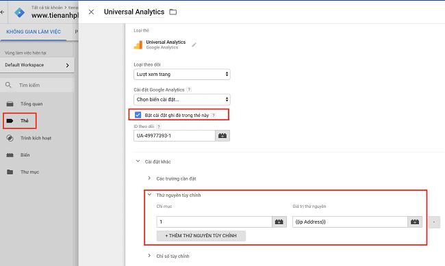 Cách Tracking địa chỉ IP truy cập vào Website bằng Google Analytics
